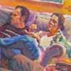 Rob&Leonie   Oil on canvas