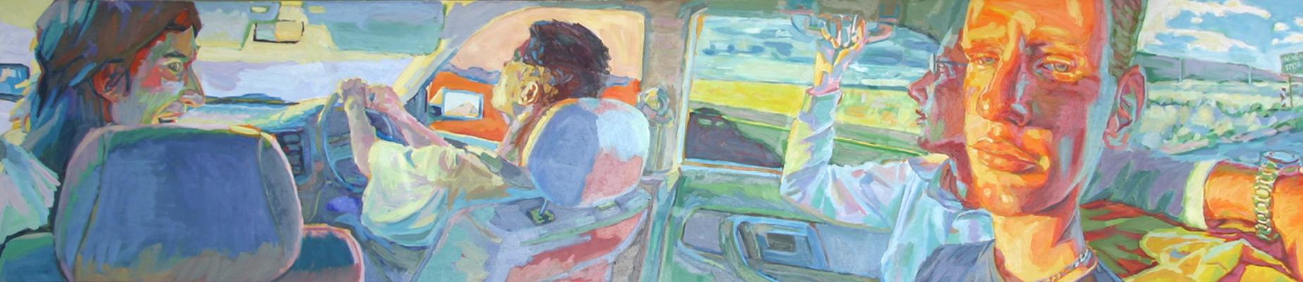 """Roadtrip to Bloem | Oil Painting"""